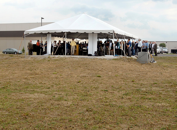 Groundbreaking at Flagship for Greenville Technology Inc. new auto parts plant.