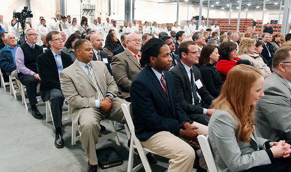 A large crowd gathered for GTI's grand opening Friday.