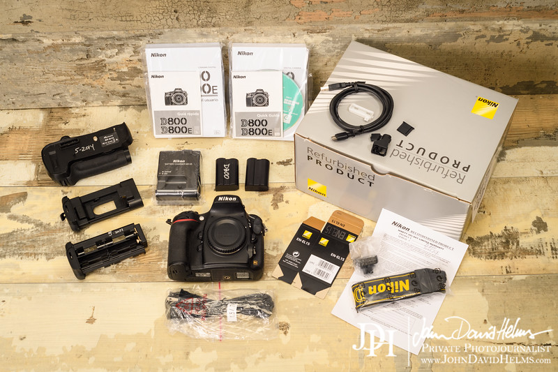 """D800 with box, papers, and extras, 35k clicks.  $995 local sale.  Contact johndhelms@hotmail.com for more information.  Photo by John David Helms,  <a href=""""http://www.johndavidhelms.com"""">http://www.johndavidhelms.com</a>"""