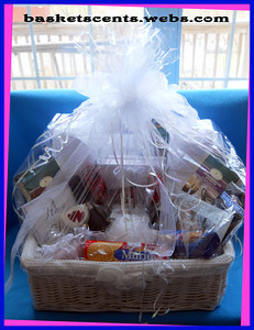 Please e-mail Brenda From The Contact Page at Her Web Site at www.basketsents.webs.com For Current Price Ranges On Any Size or Style of These Beautiful Gift Baskets