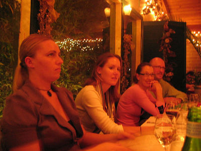 Amber, Jen, Cindy, Scott. Lighten up, Amber.