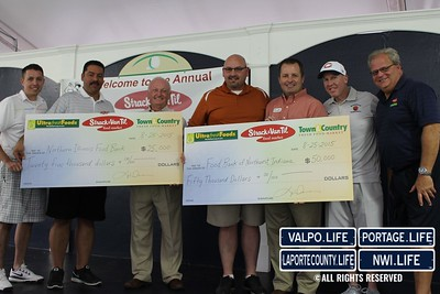 Strack & Van Til Charity Golf Outing and Check Presentation