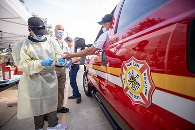 April 16, 2020 Gordon Center COVID Testing Hialeah Fire-103