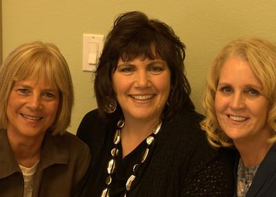 Friend Lori,Wife,Nancy,Class Mate and friend Lauren.