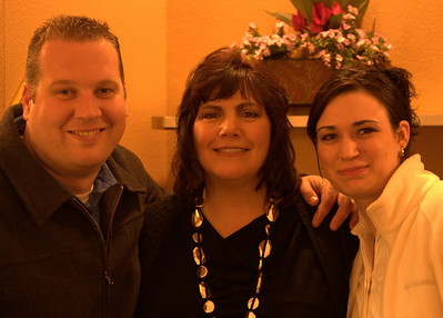 Son Ryan,Wife Nancy,and wonderful daughter in law Tammy.