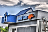 Final work is being done on the new Dutch Bros. Coffee building at 1440 North Circle Drive in Colorado Springs, Colorado.