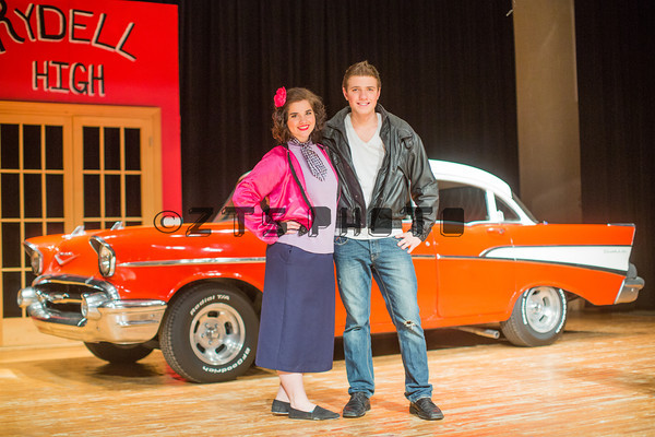 Cast Pics with the Car