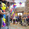 Great Wolf Resort in Fitchburg had its grand opening on Thursday morning. Address the crowd at the event is Fitchburg's Mayor Lisa Wong. SENTINEL & ENTERPRISE/JOHN LOVE