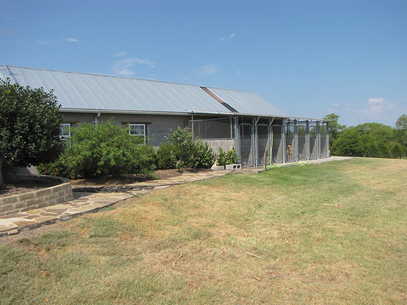 This is the South side of the kennels! Updated summer 2010