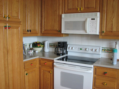 Microwave, oven, Coffee Pot and one cup also Green Acres Garden B&B - Luxury in the country! Private Cottage on Lake Lavon...