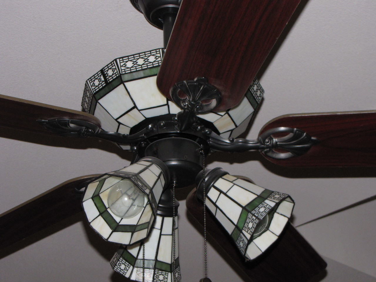 3 Lovely Ceiling Fans Green Acres Garden B&B - Luxury in the country! Private Cottage on Lake Lavon...