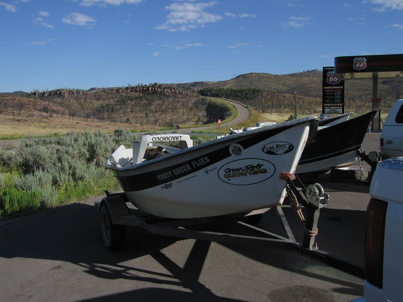 Metal drift boat
