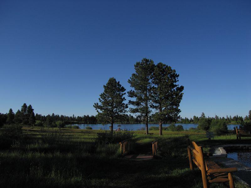 Dusk at Red Canyon Lodge