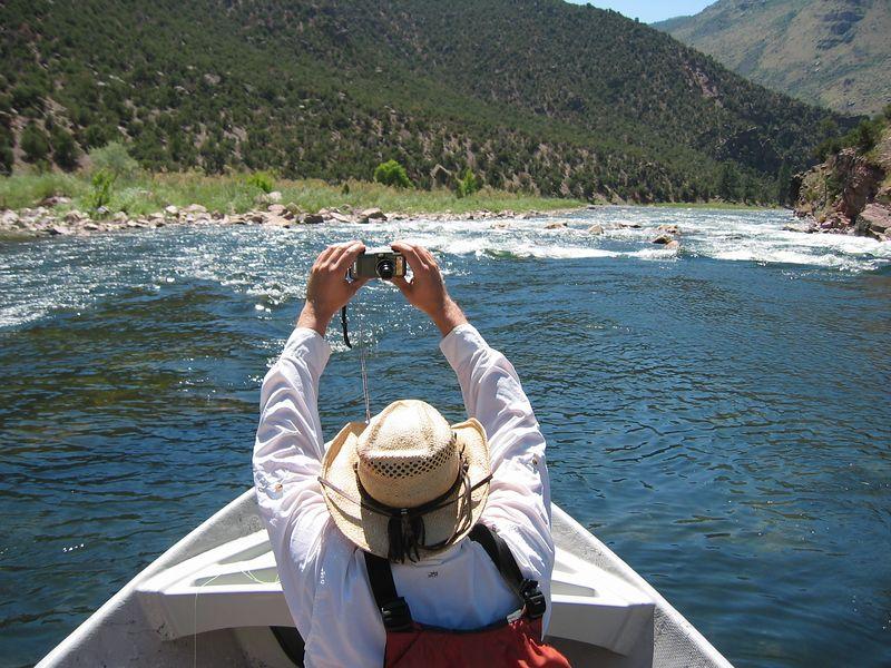 Upcoming rapids, from Scott's camera
