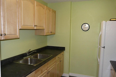 Typical small kitchen installation.