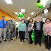 H&R Block held their grand-opening for their new location at 32 Water Tower Plaza in Leominster on Saturday. Standing from left is Peter D'Olimpio, tax professional; James Keeley, district manager; Peter Mirabella, senior tax advisor and registered tax return preparer; Nancy Palmieri, tax professional; Tim Ludy, marketing coordinator; Erica Lacoy, client service professional; Bob Schwint; office manager; and Joyce Gulliver, master tax advisor and enrolled agent.<br /> SENTINEL & ENTERPRISE / BRETT CRAWFORD