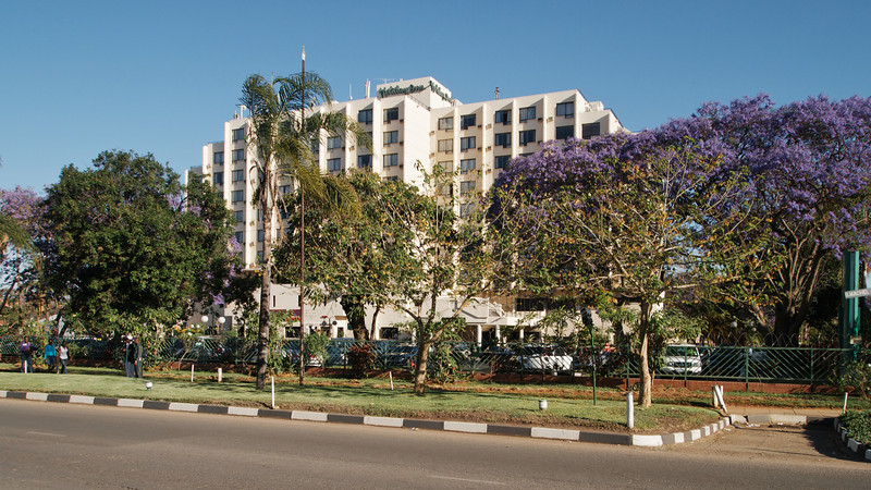 Harare's Holiday Inn hotel, on the corner of Samora Machel and Fifth Street