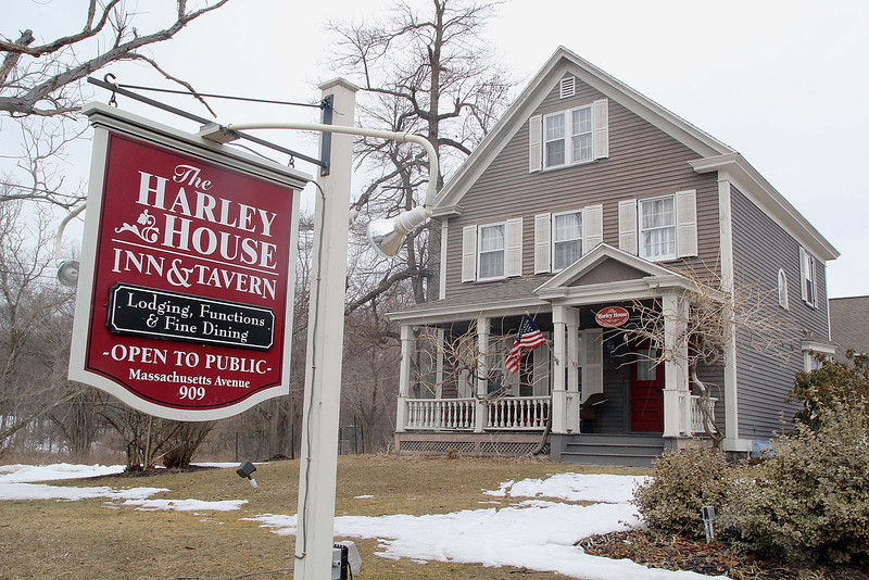 The Harley House Inn & Tavern in Lunenburg has closed its doors. SENTINEL & ENTERPRISE/JOHN LOVE