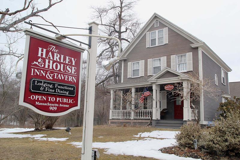 The Harley House Inn & Tavern in Lunenburg has closed its doors. SENTINEL & ENTERPRISE/JOHN LOVE