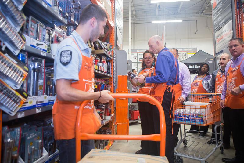 Home Depot Florida Governor Scott-28