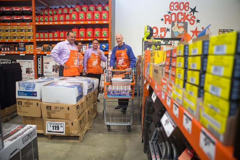 Home Depot Florida Governor Scott-52