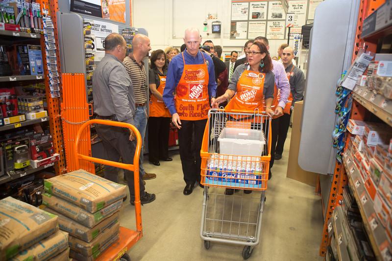 Home Depot Florida Governor Scott-26