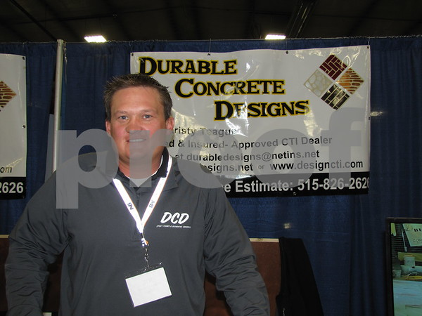 Joe Teague of Durable Concrete Designs