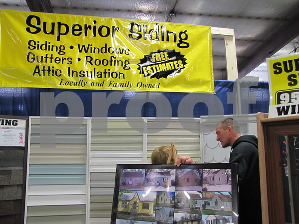 The gentleman representing Superior Siding of Fort Dodge was very busy answering customers questions so we did not get his name.