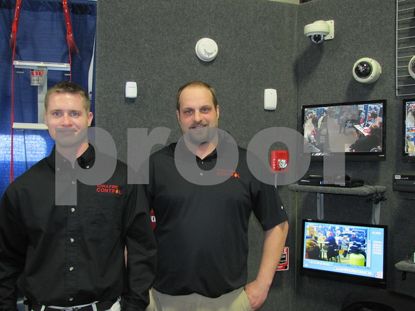 Kurt McCloud and Brad Hanson of Fire Control were giving demonstrations when not in their booth displaying their products.