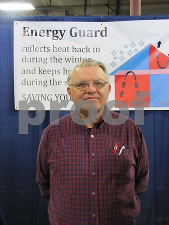 Chuck Harris, energy consultant with Energy Guard