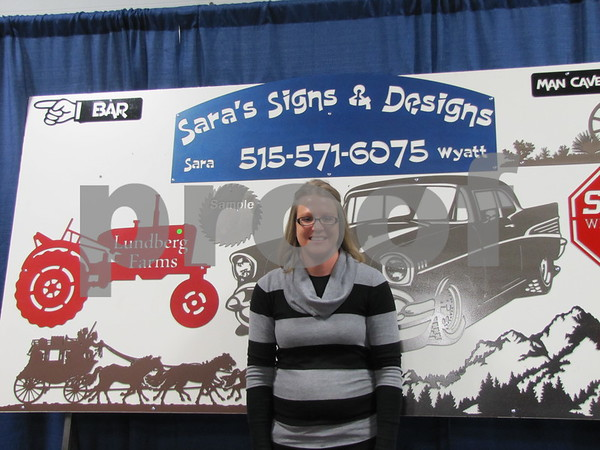 Sara Lundberg of Signs & Designs
