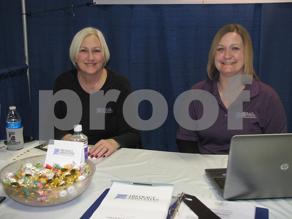 Susan Anderson and Danielle Michalski represented Abstract Associates of Webster County, Inc.