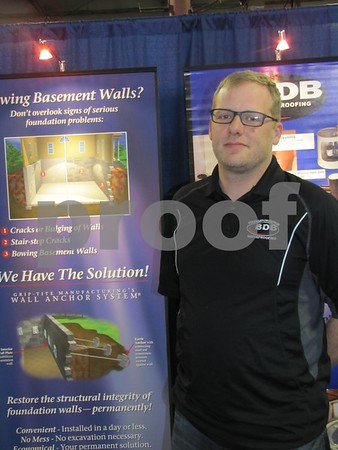 Heath Sanmann of BDB Waterproofing in Elkhorn, Nebraska