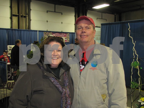Luann and Craig Nekvinda attended the Home & Garden Show at the east campus of ICCC in Fort Dodge.