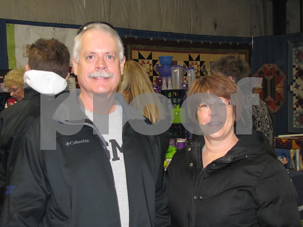 Greg and Danette Miller attended the Home & Garden Show.