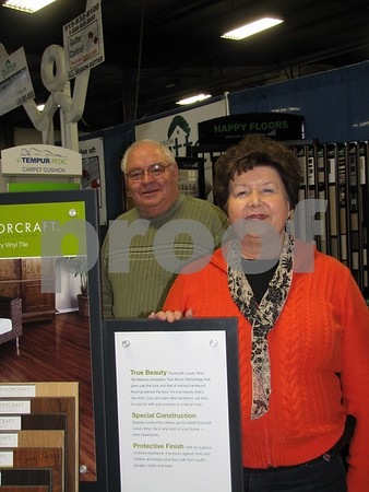 Larry and Bev Leiting of Flooring America