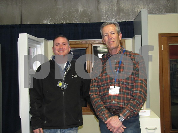 Justin Smith and Dan Mills of Pella Windows