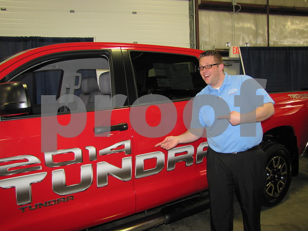 Cameron Nelson, Sales Consultant for Fort Dodge FORD can tell you all about this Ford Tundra.