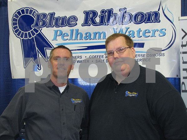 John Miles and Todd Wood of Blue Ribbon Pelham Waters