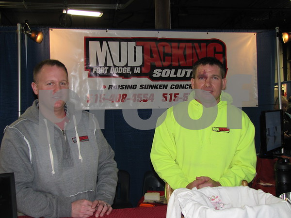 Dan Summers and Jeff Hill of Mudjacking Solutions