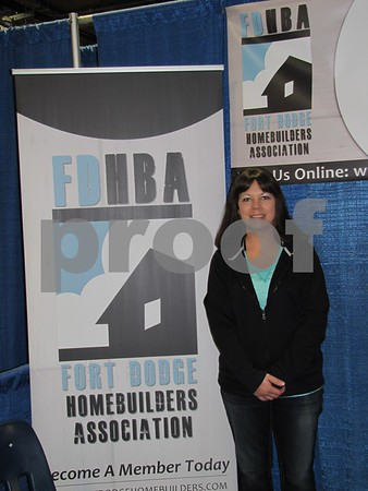 Heidi Lau of Fort Dodge Home Builders Association