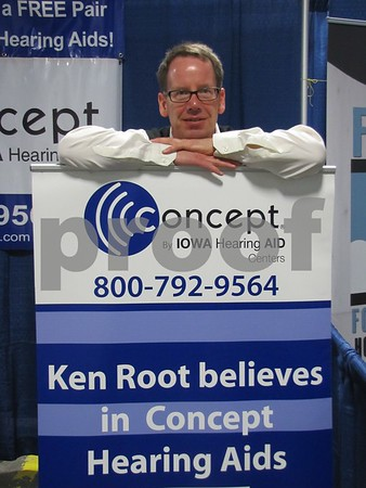 Nick Woolley, hearing instrument specialist with Concept.