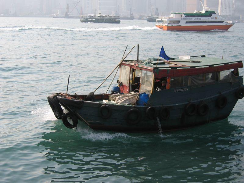 Hong Kong bay