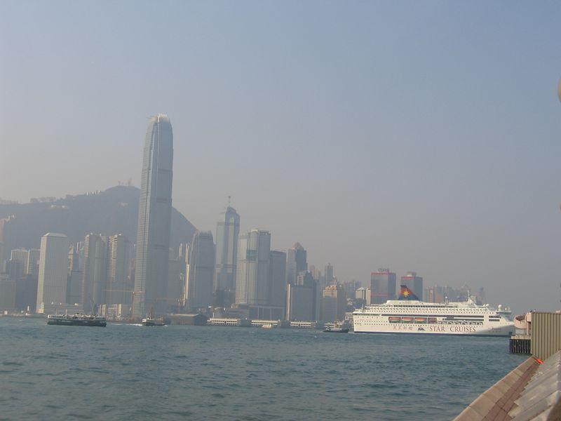 Hong Kong Island, seen from Kowloon side