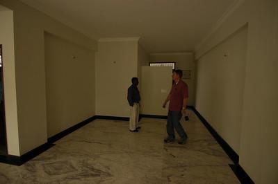 Looking back at Foyer & Front Door