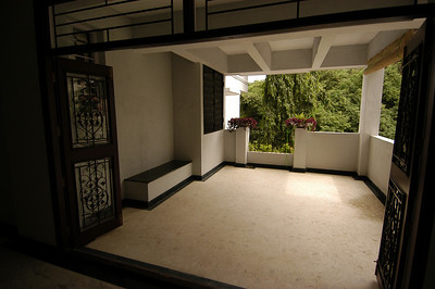 Large Balcony off Living Space