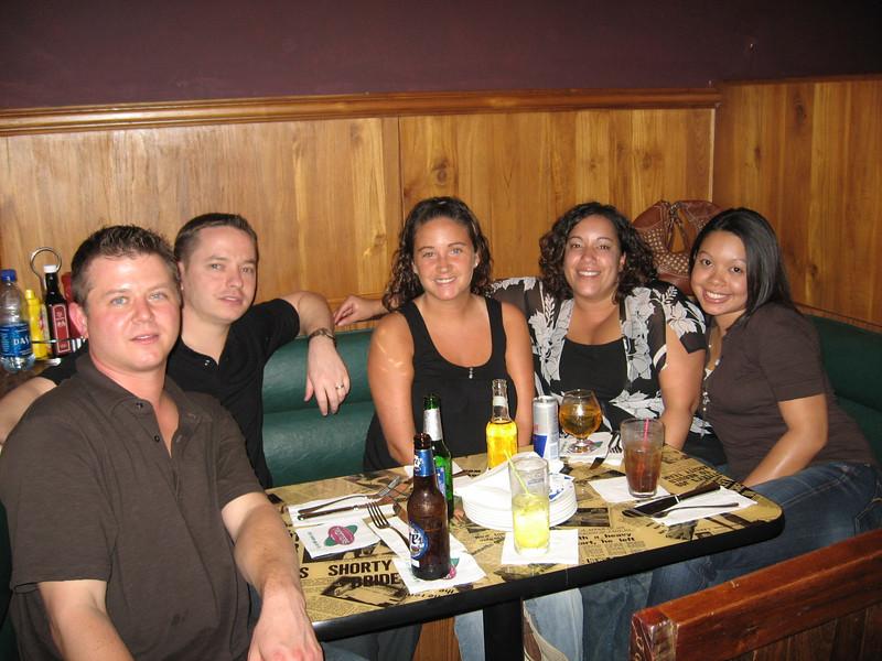 ALISSA, JENNIFER AND CELESTE, PLUS F&B TEAM