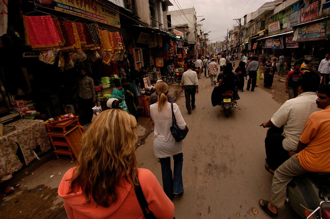 Bazzar in Old Hyderabad