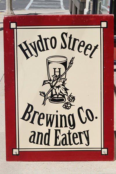 Hydro Street Brewing Co. & Eatery in downtown Colombus, WI.
