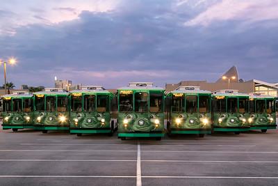 I-Ride Trolley Fleet November 2015